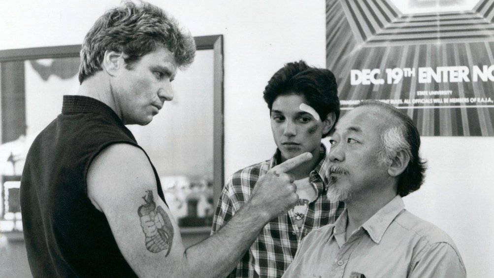 Karate Kid, una immagine del film di John G. Avildsen