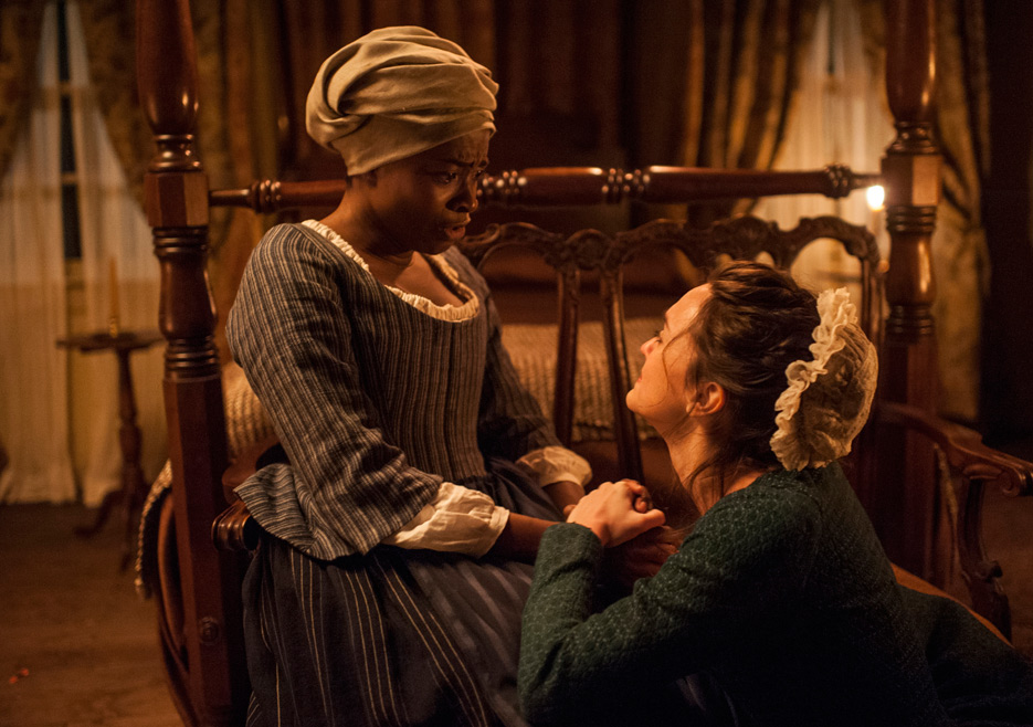 TURN: idara victor e Heather Lins nell'episodio Epiphany