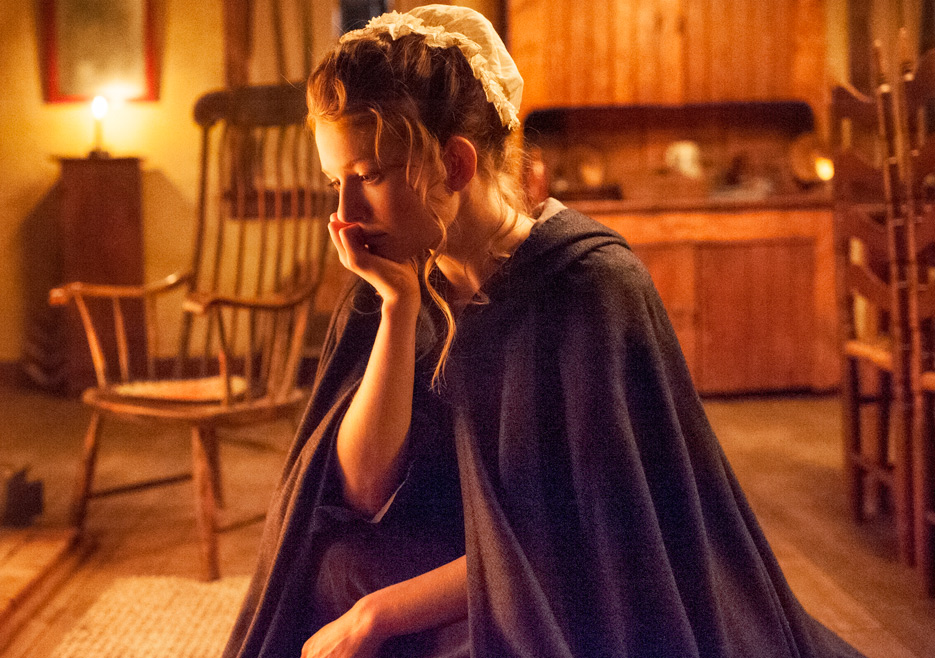 TURN: Meegan Warner nell'episodio Epiphany