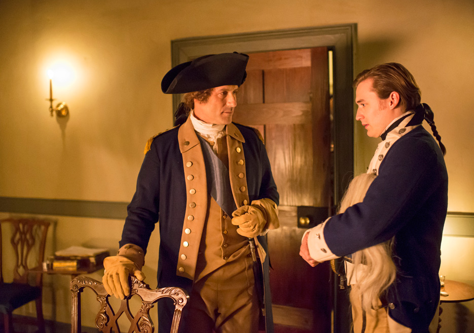 TURN: Ian Kahn e Seth Mumric nell'episodio Mr. Culpeper