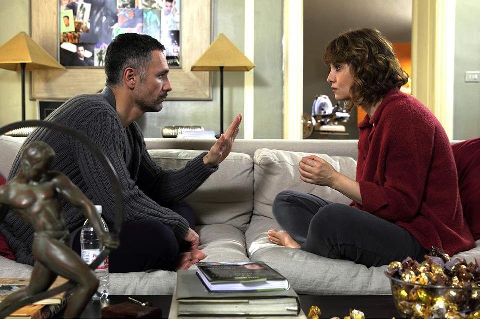 Scusate se esisto: Raoul Bova e Paola Cortellesi in una scena del film