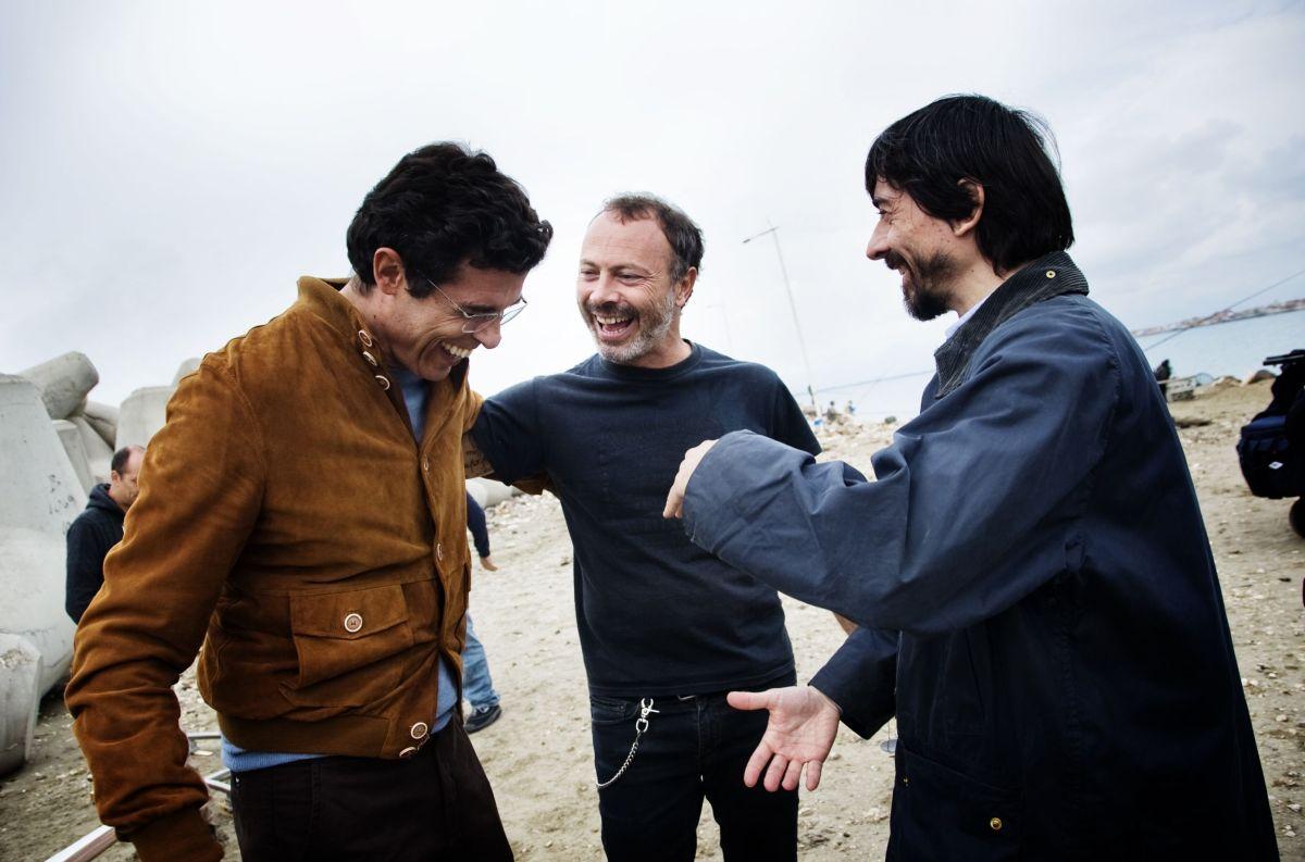 I nostri ragazzi: Luigi Lo Cascio con Alessandro Gassman e Ivano De Matteo sul set
