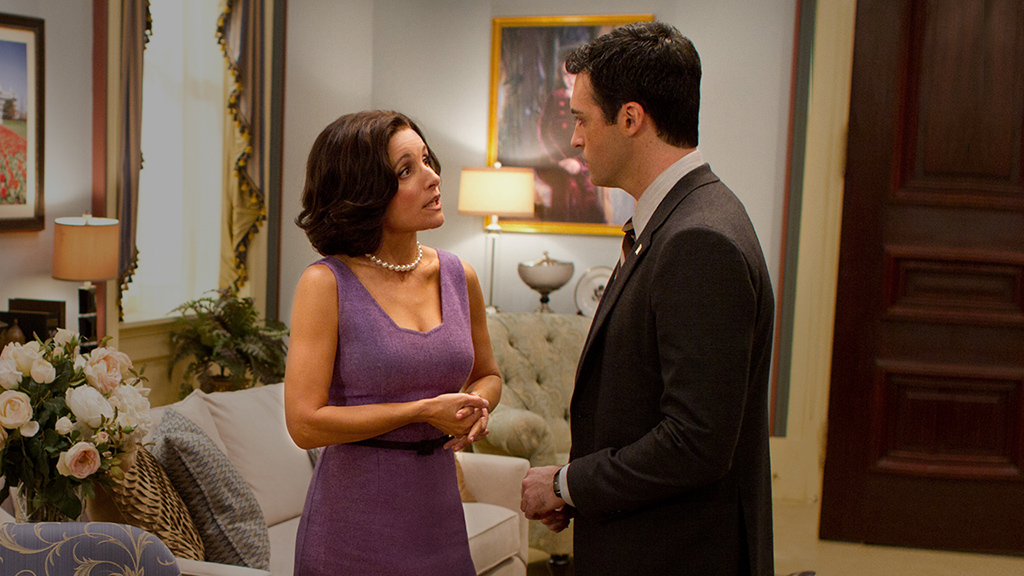 Veep: Julia Louis-Dreyfus nell'episodio Full Disclosure