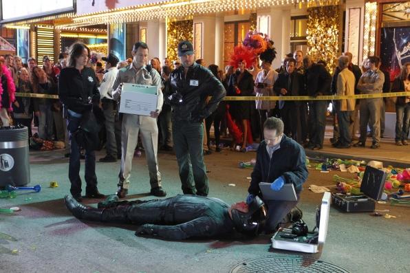 CSI: una scena dell'episodio Rapina al casinò