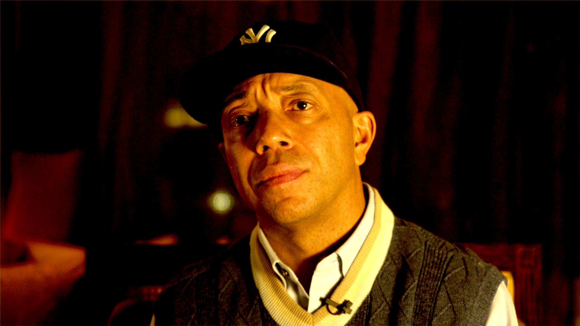 Come fare soldi vendendo droga: Russell Simmons, produttore e sceneggiatore, in una scena del documentario
