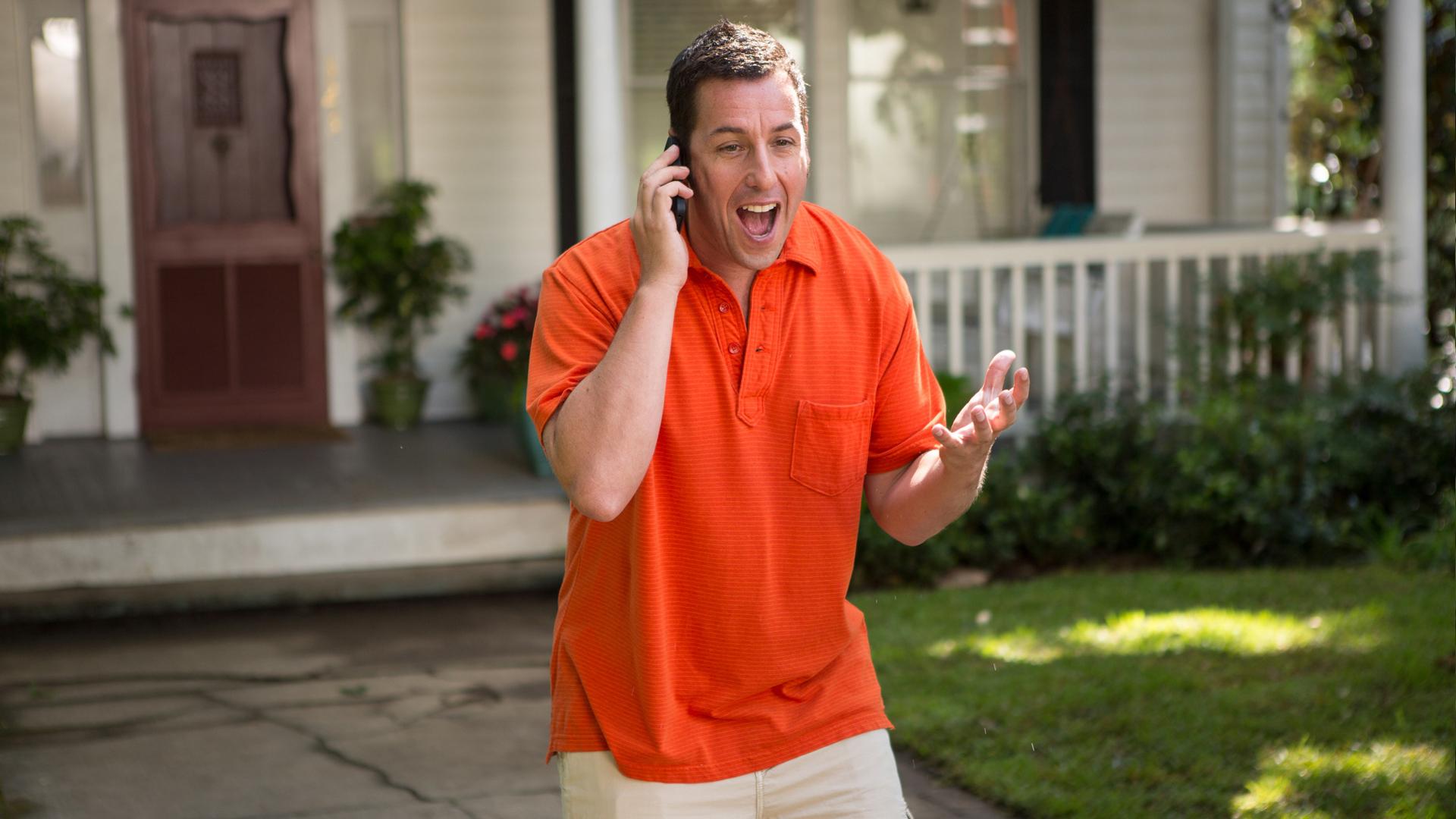 Insieme per forza: Adam Sandler nel ruolo di Jim in una scena