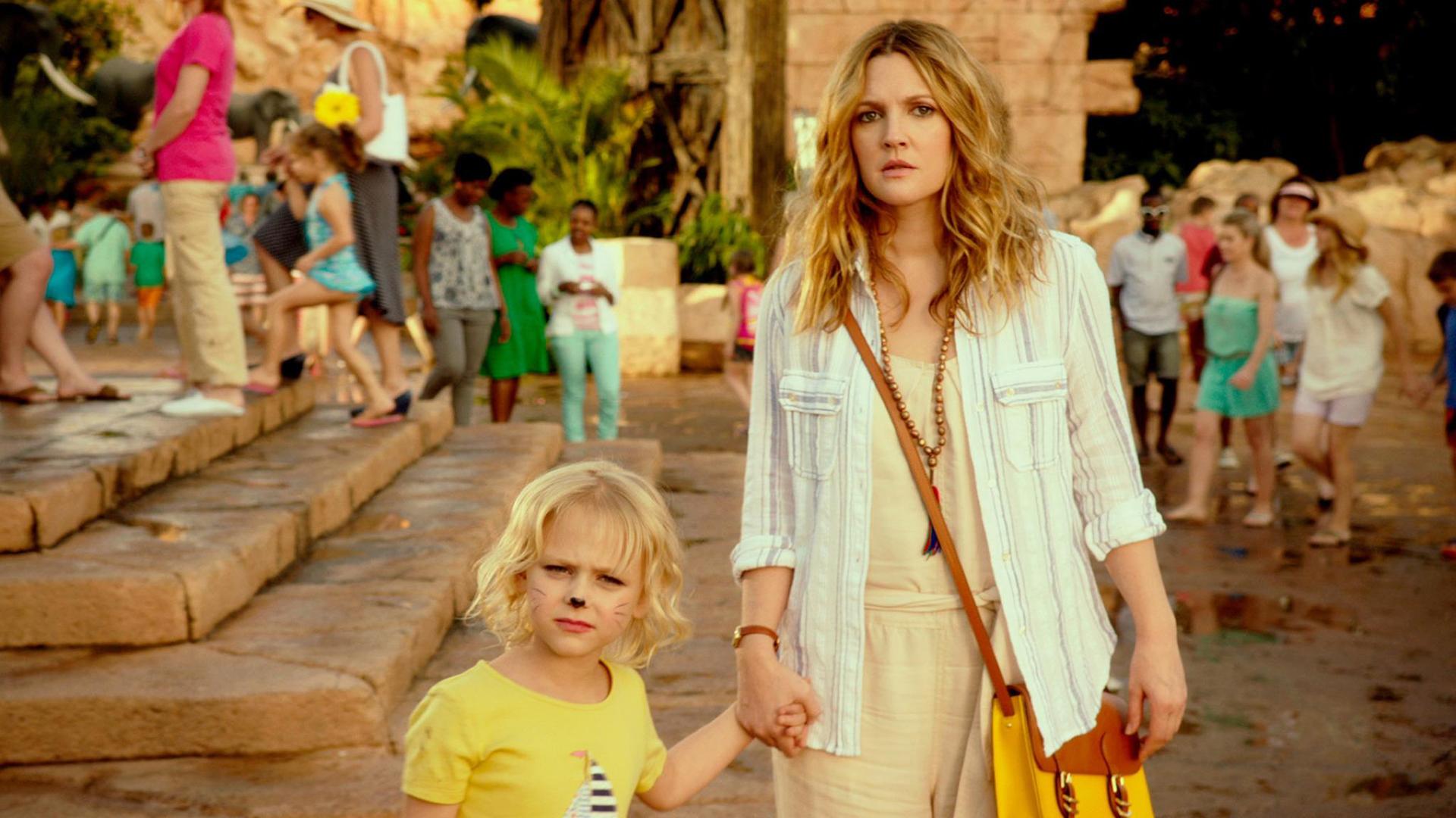 Drew Barrymore con la piccola Alyvia Alyn Lind in una scena
