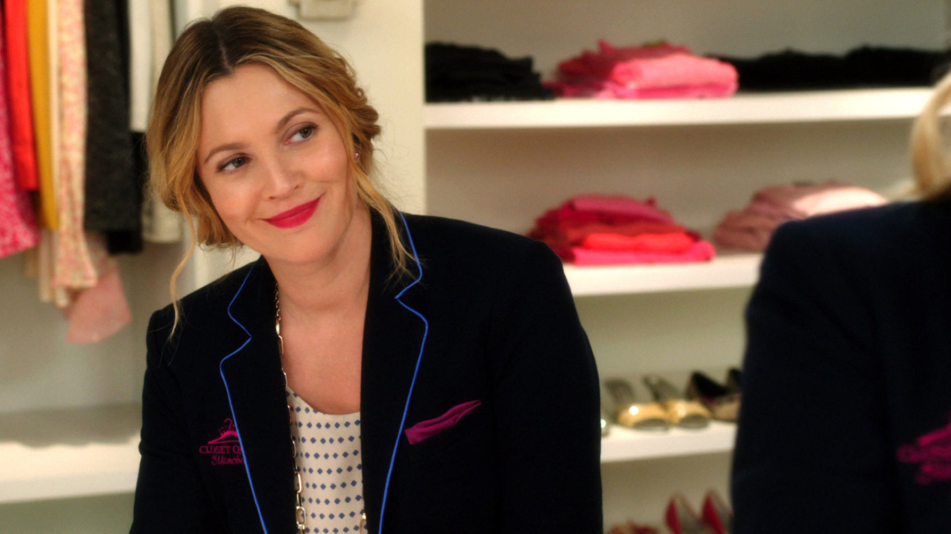 Drew Barrymore nei panni di Lauren in una scena di Insieme per forza
