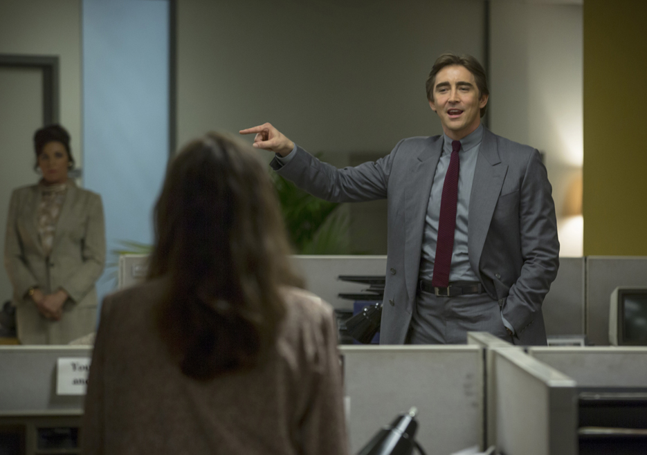 Halt and Catch Fire: Lee Pace in una scena dell'episodio Close to the Metal