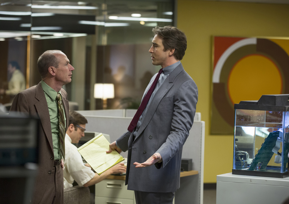 Halt and Catch Fire: Toby Huss e Lee Pace nell'episodio Close to the Metal