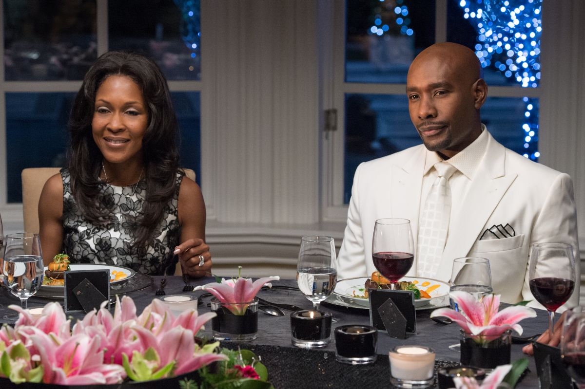 The Best Man Holiday: Monica Calhoun e Morris Chestnut in una scena del film