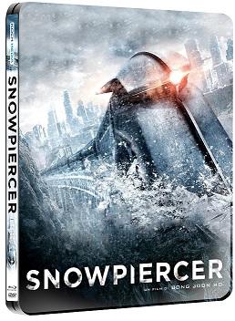 La cover della steelbook di Snowpiercer