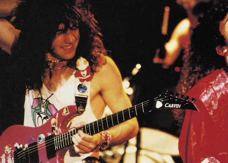 Jason Becker: Ancora vivo, il chitarrista Jason Becker nel periodo di massimo successo prima della malattia