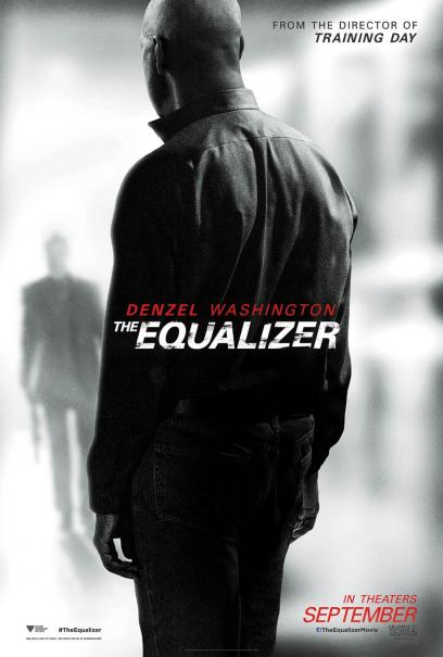 The Equalizer - Il vendicatore: la nuova locandina mostra la schiena di Denzel Washington