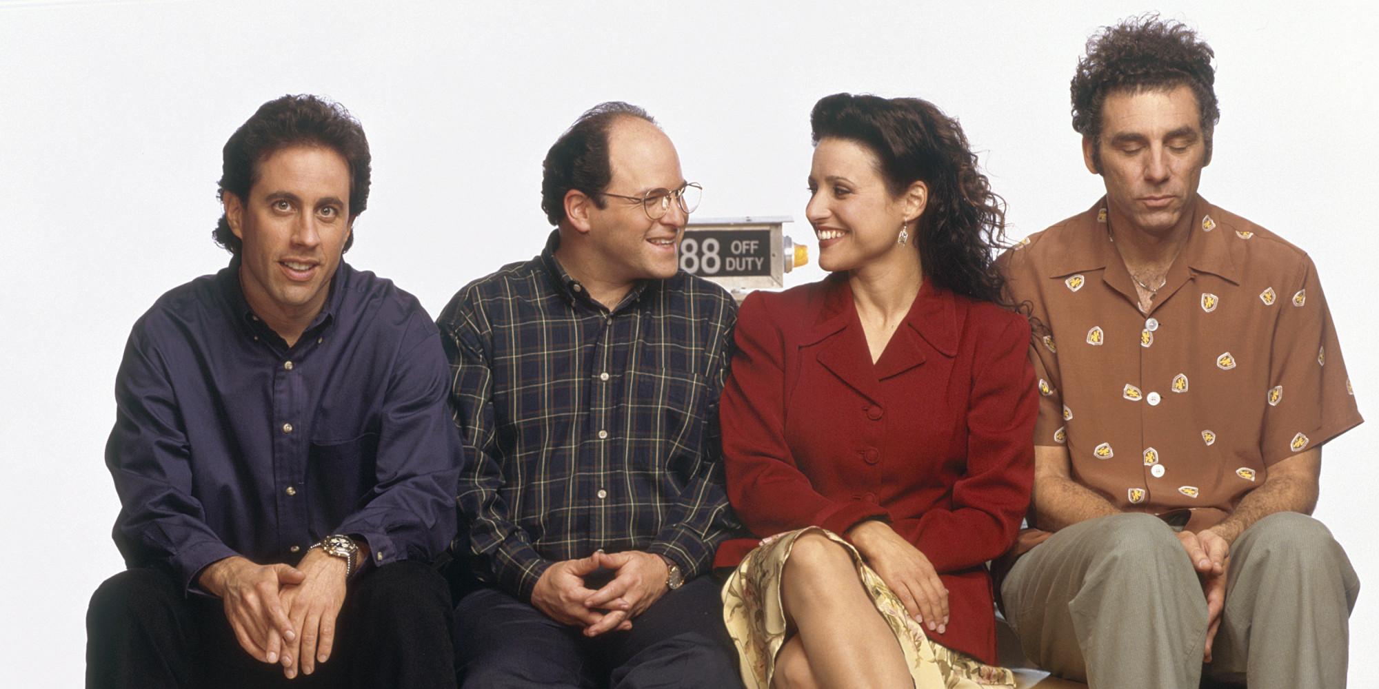 Seinfeld: il cast in una foto promozionale