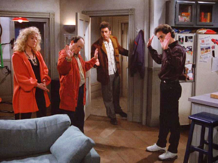 Seinfeld: episodio The Outing