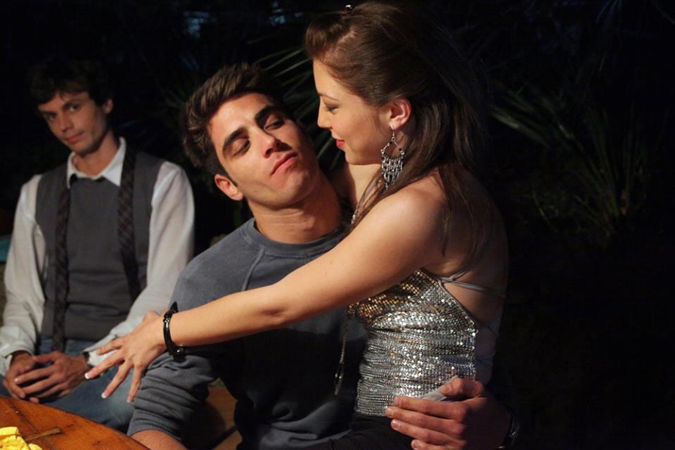 L'estate sta finendo: Marco Rossetti e Ilaria Giachi sono Fabrizio e Katia in una scena del film