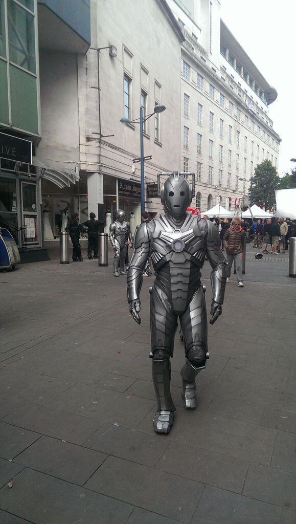 Doctor Who: un'immagine dal set per il finale di stagione