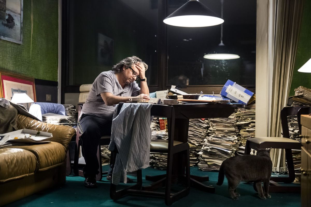 Perez.: Gianpaolo Fabrizio nei panni di Merolla in una scena del film