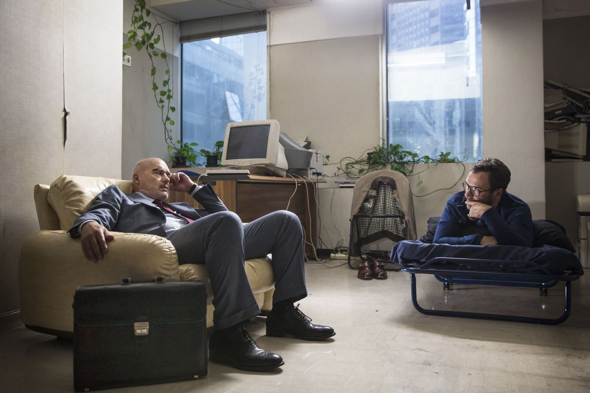 Perez.: Luca Zingaretti con Massimiliano Gallo in una scena del film