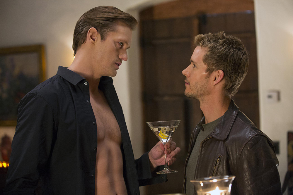 True Blood: Alexander Skarsgård e Ryan Kwanten nell'episodio I Found You