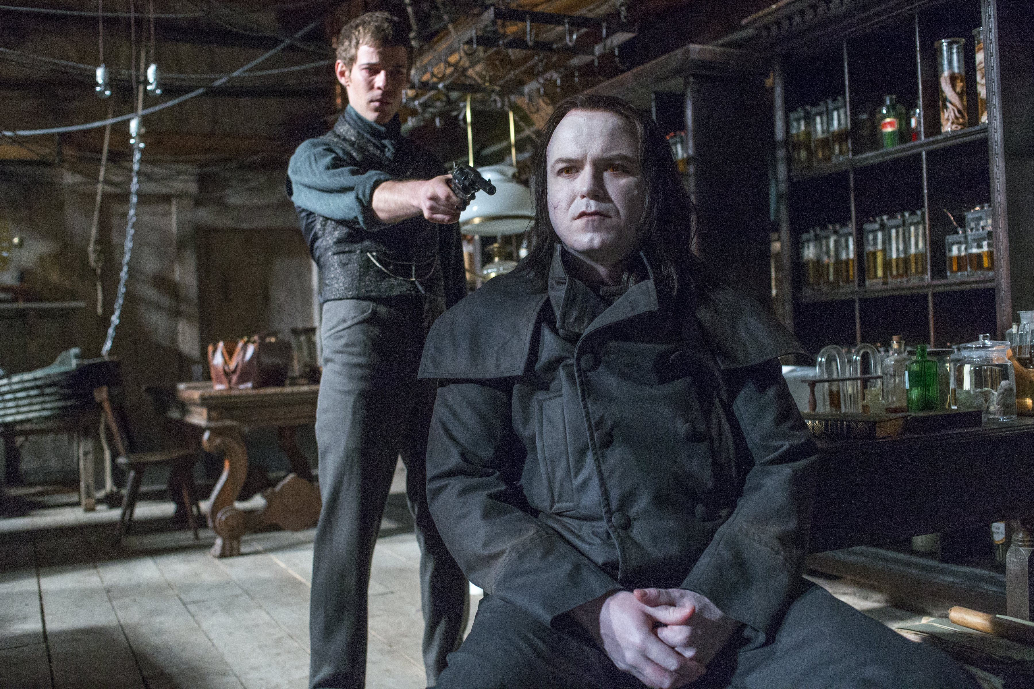Penny Dreadful: Rory Kinnear e Harry Treadaway nell'episodio Grand Guignol