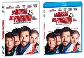 Le cover dei prodotti homevideo di La mossa del pinguino