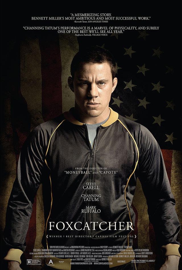 Foxcatcher: il character poster di Channing Tatum