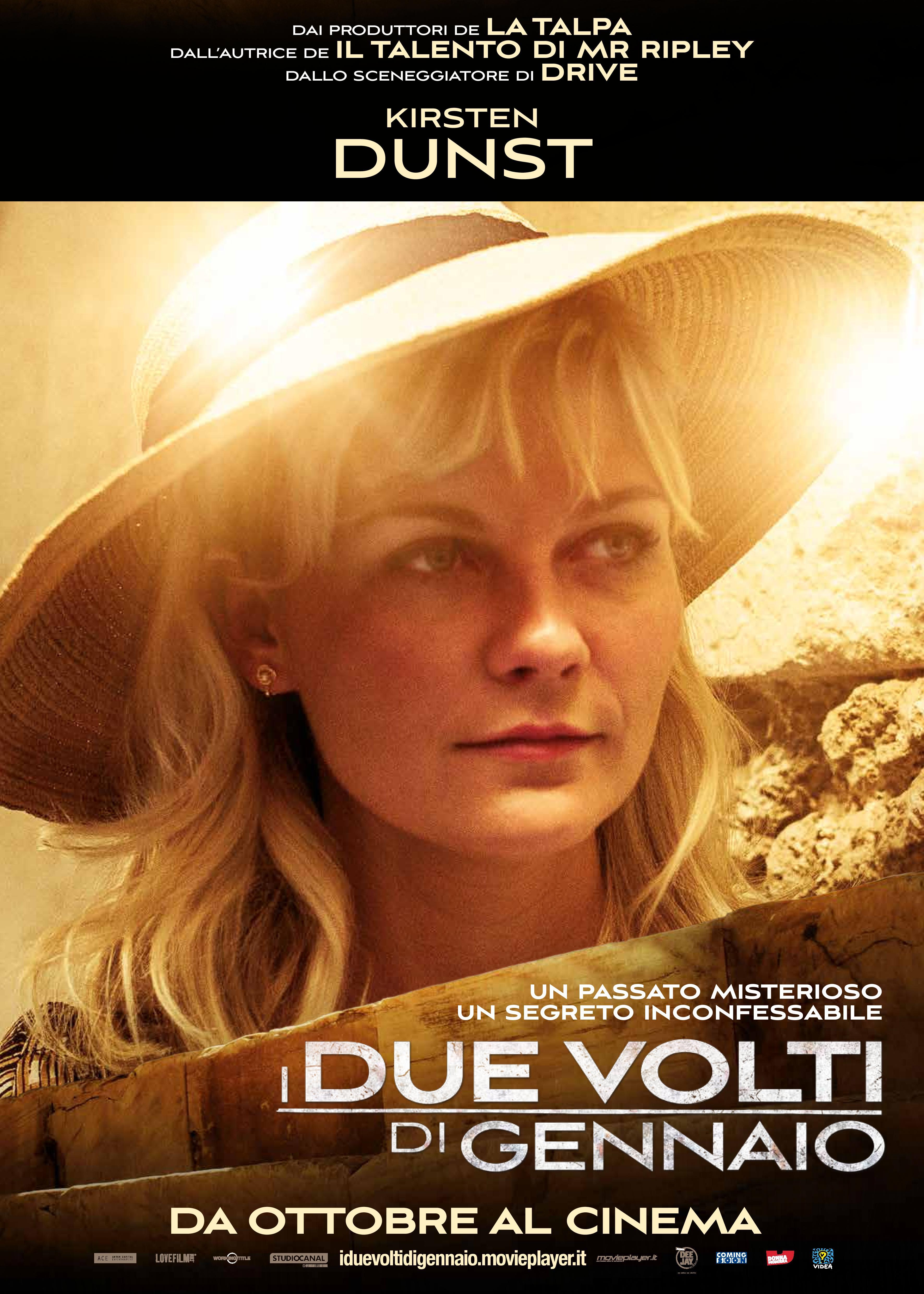 I due volti di gennaio: il character poster italiano di Kirsten Dunst