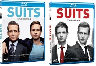 Le cover dei blu-ray di Suits