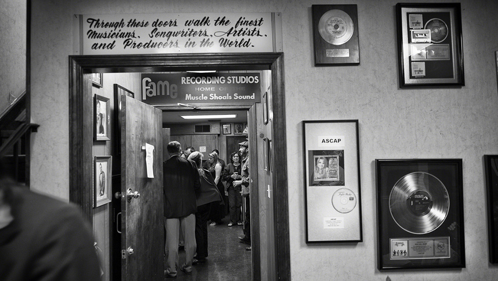 I Fame Studios in una scena di Muscle Shoals - Dove nascono le leggende