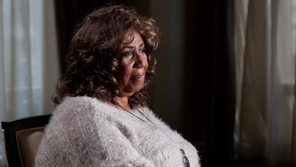 Muscle Shoals - Dove nascono le leggende: Aretha Franklin in una scena del documentario