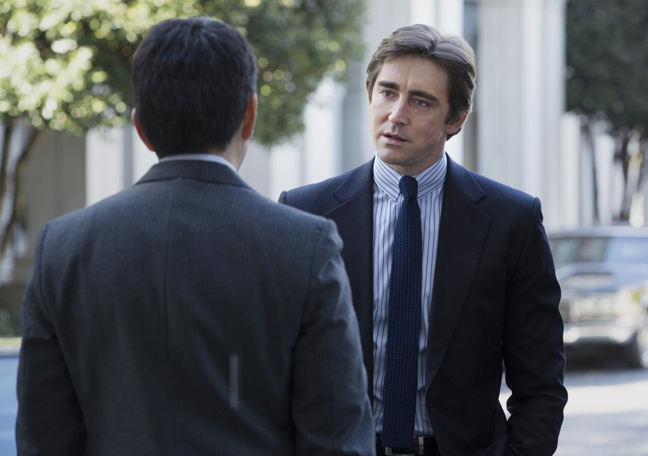 Halt and Catch Fire: Lee Pace in una scena dell'episodio Adventure