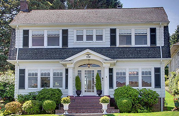 Twin Peaks, la casa dei Palmer, situata a Everett (Washington)