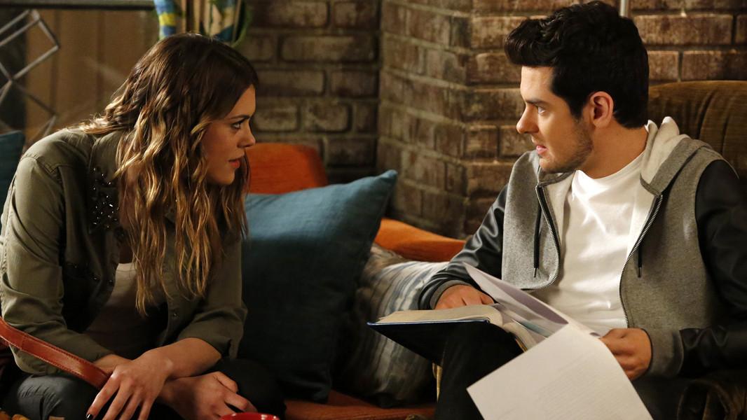 Pretty Little Liars: Brendan Robinson e Lindsey Shawn nell'episodio Thrown from the Ride