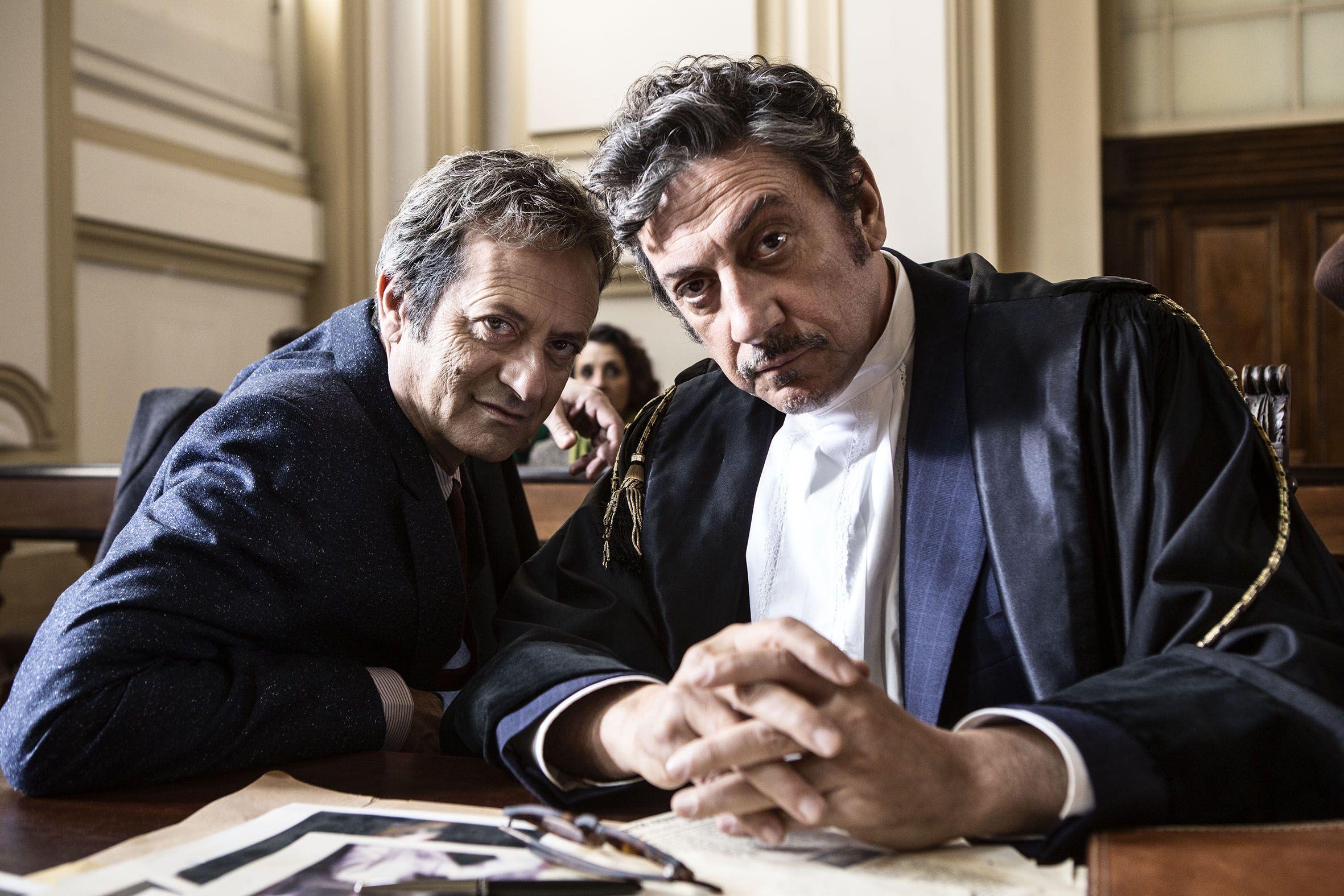 La buca: Sergio Castellitto e Rocco Papaleo nella prima immagine promozionale del film