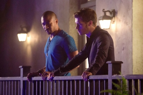 The Originlas: Joseph Morgan e Charles Michael Davis nell'episodio House of the Rising Sun