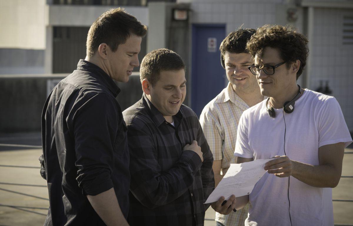 22 Jump Street: i due registi del film sul set con Channing Tatum e Jonah Hill