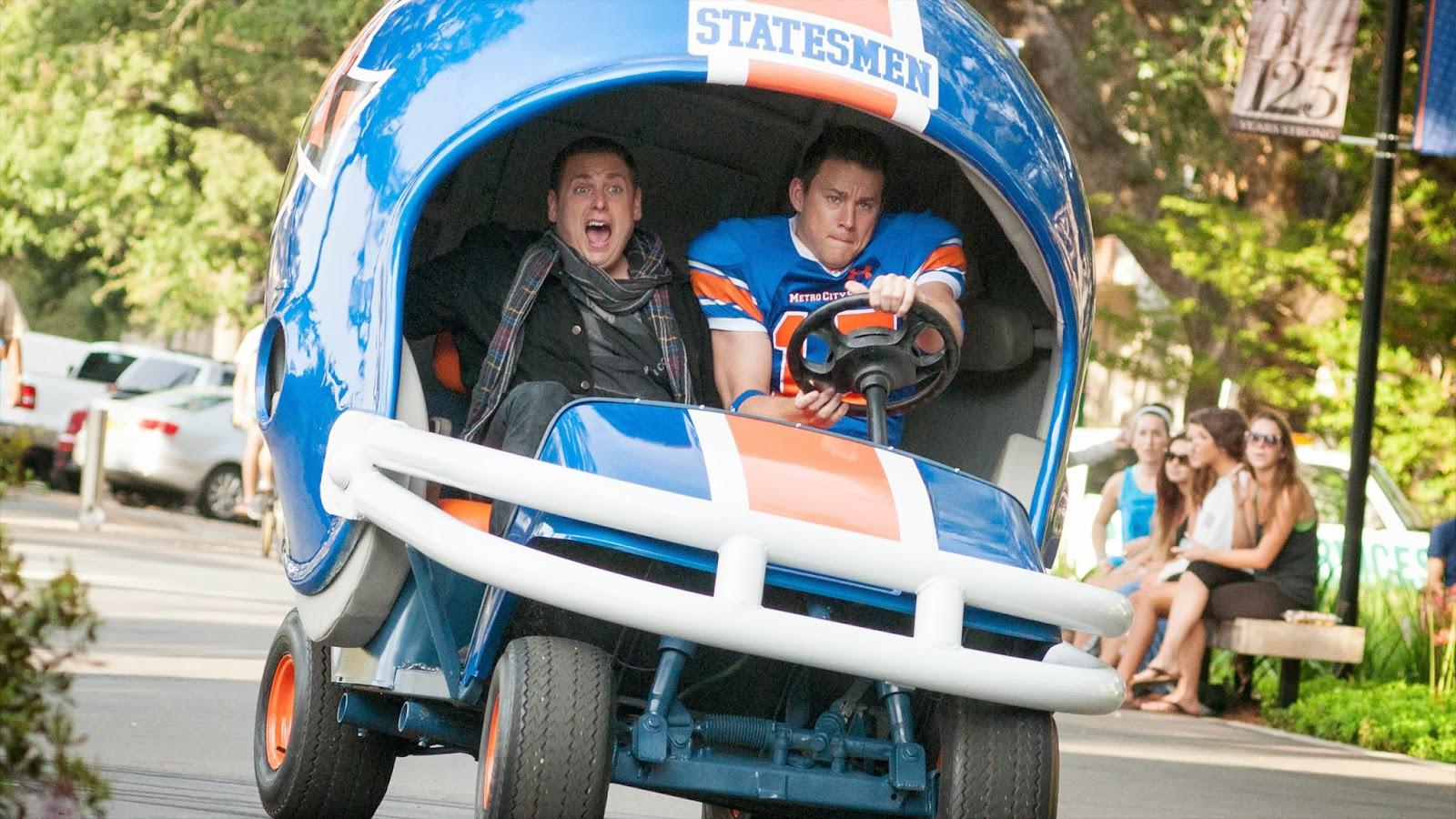 22 Jump street: Channing Tatum e Jonah Hill in una pazza scena action
