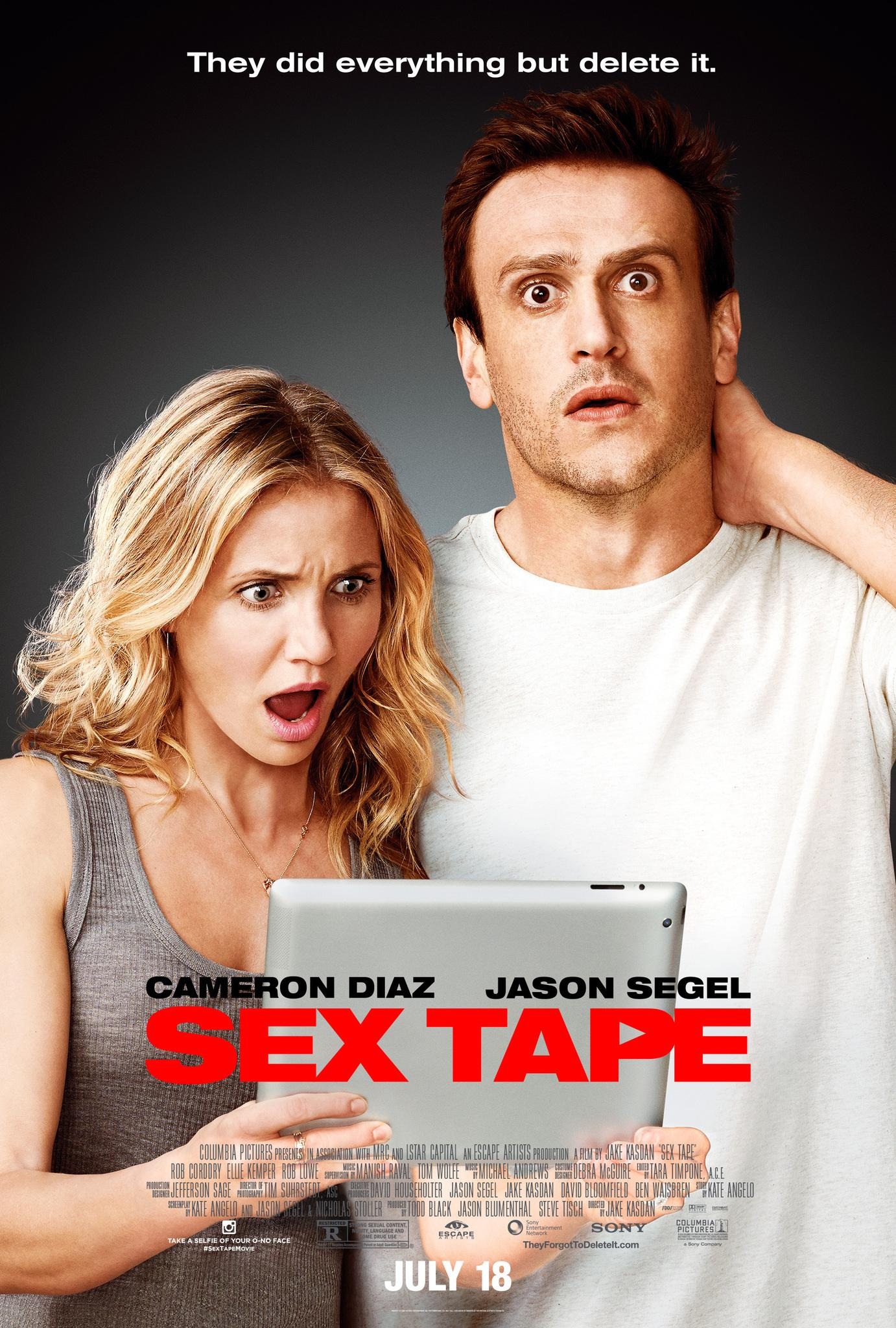 Sex Tape - Finiti in Rete: nuova locandina internazionale