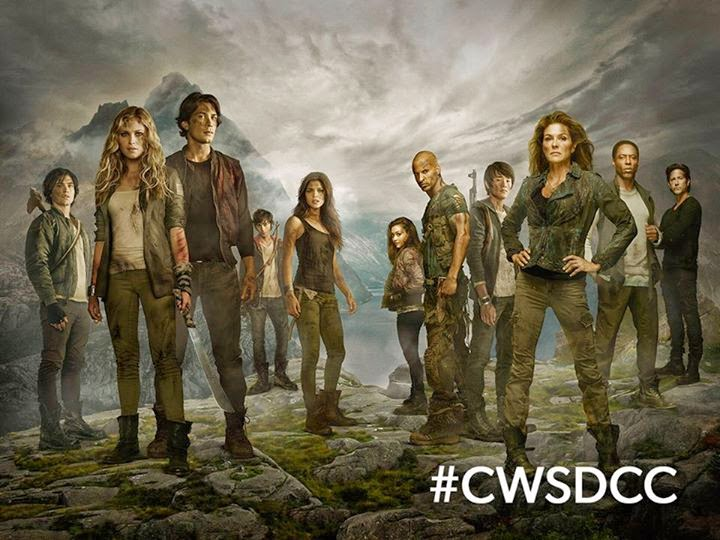 The 100: wallpaper creato per il Comic-con di San Diego del 2014