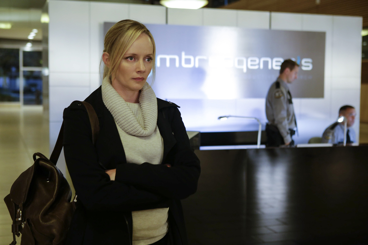 The Lottery: Marley Shelton in una scena del pilot della serie