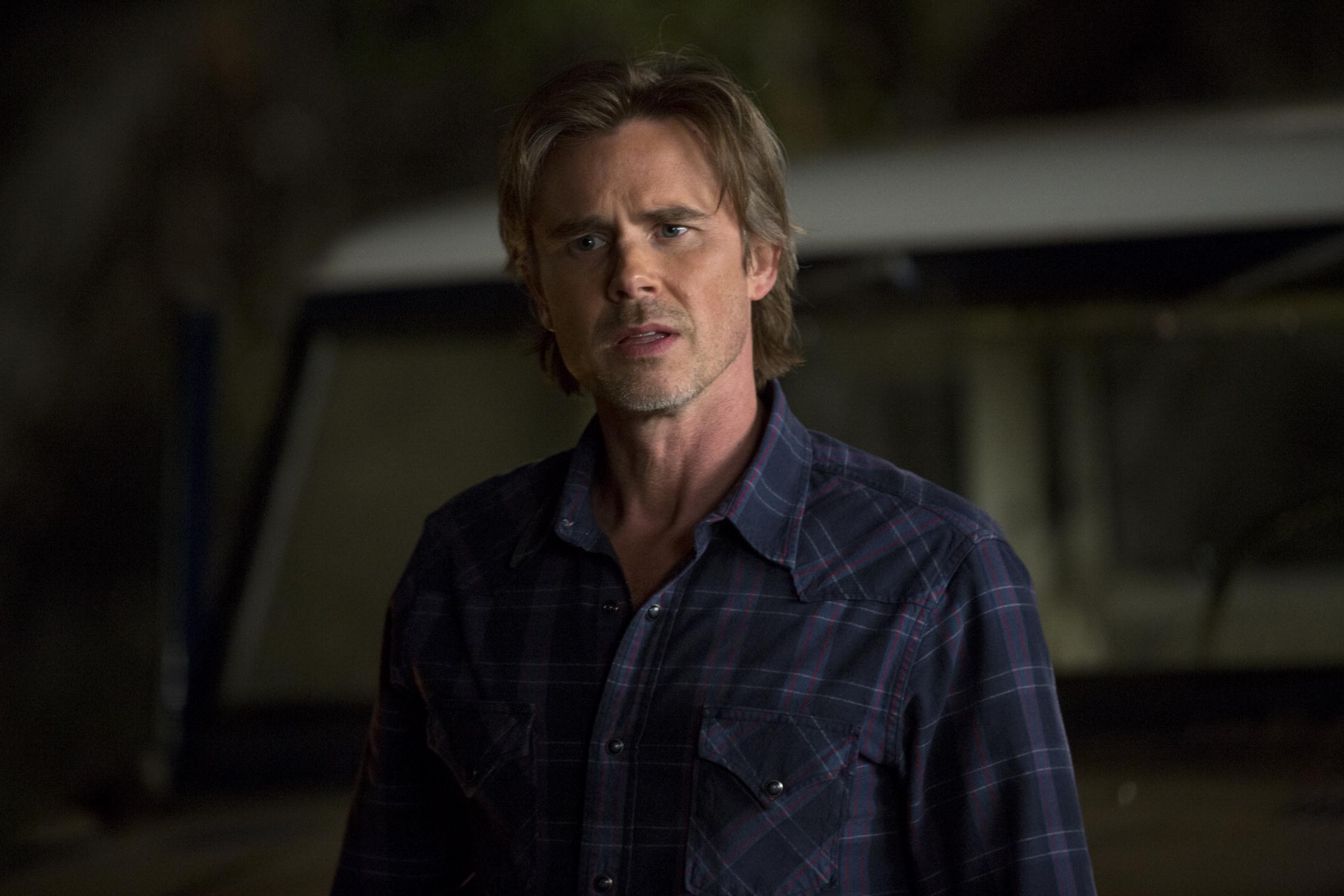 True Blood: Sam Tramell nell'episodio Fire in the Hole