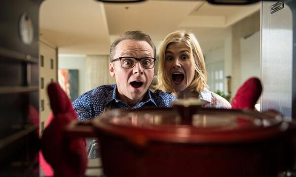 Hector And The Search For Happiness: Simon Pegg e Rosamund Pike trovano una sorpresa