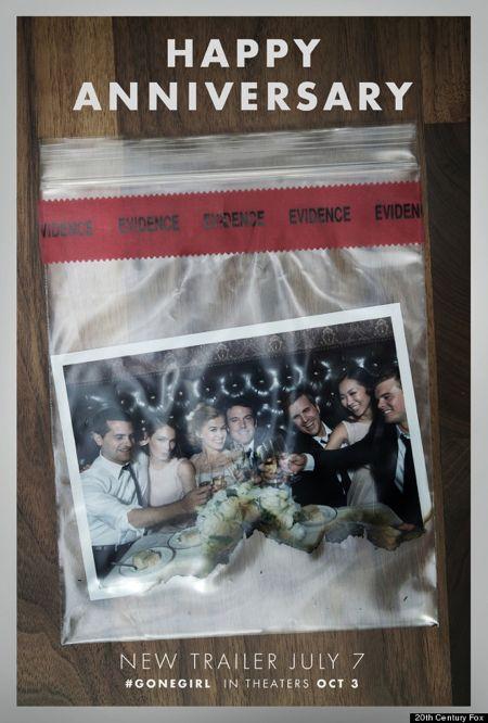 L'amore bugiardo - Gone Girl: un teaser poster con una foto di gruppo