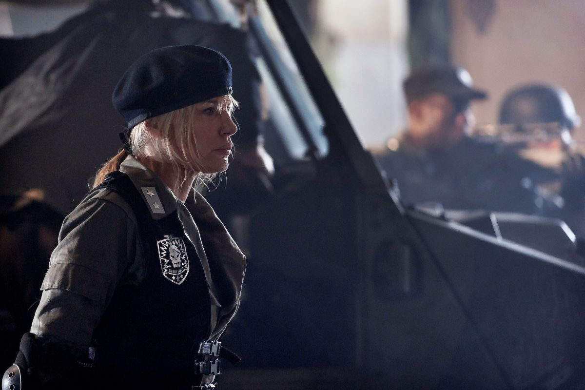 2047 - Sights of Death: Daryl Hannah in una scena dell'action fantascientifico