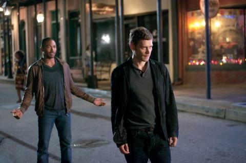 The Originals: Joseph Morgan e Charles Michael Davis nell'episodio Il frutto avvelenato