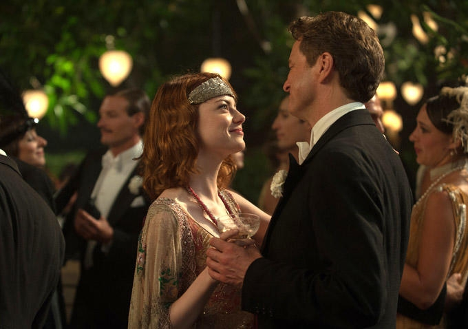 Magic in the Moonlight: Colin Firth ed Emma Stone danzano romanticamente