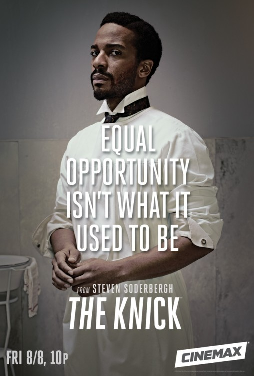 The Knick: Andre Holland manifesto promozionale della prima stagione