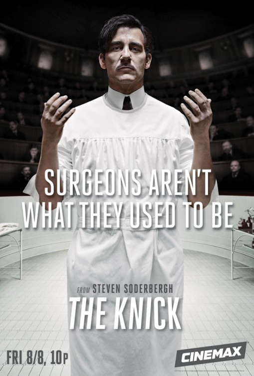 The Knick: Clive Owen in manifesto promozionale della prima stagione